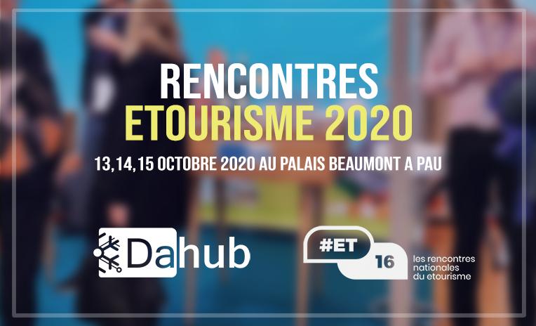 Rencontres etourisme 2020 - 13,14 et 15 octobre 2020